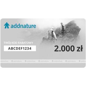 addnature Karta Upominkowa, 2000 zł